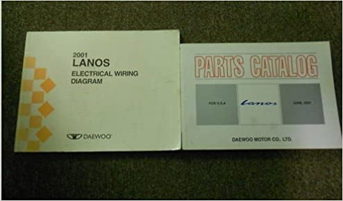 Awe Inspiring 2001 Daewoo Lanos Electrical Wiring Diagram Service Manual Set Wiring 101 Capemaxxcnl