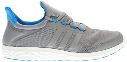 adidas Performance Men's CC Sonic M Running Shoe, Grey/Tech Grey/Shock Blue, 10.5 M US
