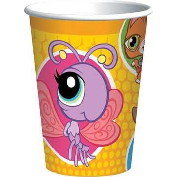 Designware Littlest Pet Shop 9 oz Cups - 8 ct ()