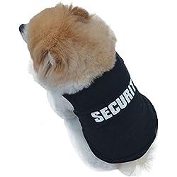 Laimeng 2015 New Fashion Summer Cute Dog Pet Vest Puppy Printed Cotton T Shirt (L)
