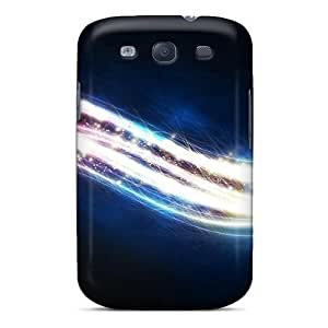 New Premium Wade-cases Bright Abtsract Glow Skin Case Cover Excellent Fitted For Galaxy S3