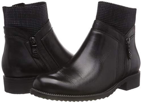 Boots Women''s black 25330 1 Ankle 21 Tamaris Black qUSIvww