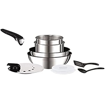 Tefal Ingenio L9409302 Batterie De Cuisine 10 Pieces 16 18
