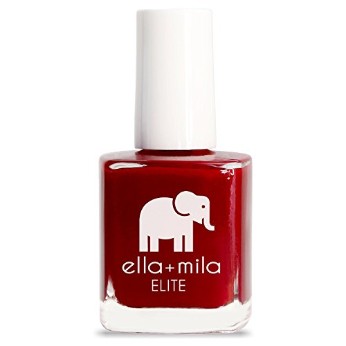ella+mila Nail Polish, ELITE Collection - Naughty Not Nice (Red Non Toxic Nail Polish compare prices)