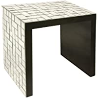 Howard Elliott 65010 Mosaic Mirrored Accent Table