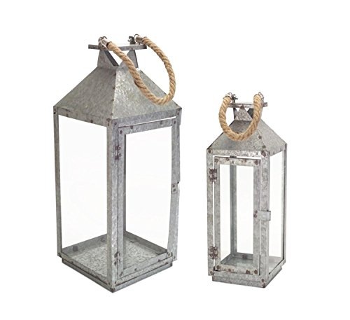 Galvanized Metal Outdoor Lighting - 8