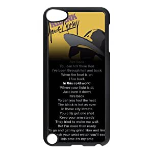 YUAHS(TM) Customized Hard Back Phone Case for Ipod Touch 5 with Kid Ink YAS048723
