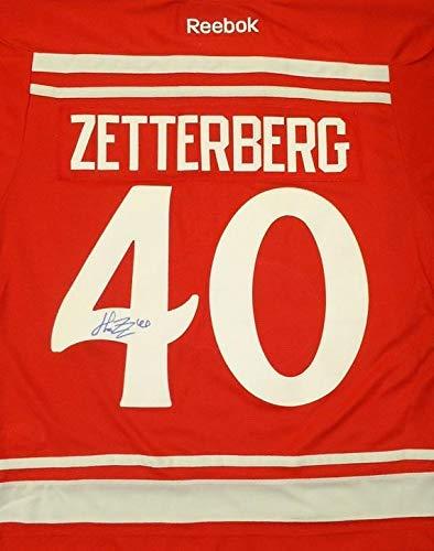 8d56fc280 Image Unavailable. Image not available for. Color: Autographed Henrik Zetterberg  Jersey - 2014 Winter Classic Premier - Autographed NHL Jerseys