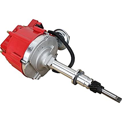 Dragon Fire High Performance Race Series Complete HEI Electronic Ignition  Distributor Compatible Replacement For Chevrolet Chevy Inline Straight 6  194