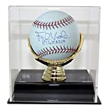 Frank Viola Autographed Signed MLB Baseball with 88 WS MVP With Deluxe Baseball Display Case