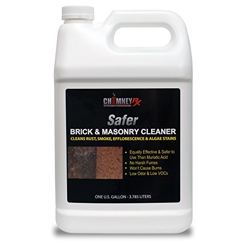 ChimneyRx Safer Brick & Masonry Fireplace Cleaner - 1 Gallon