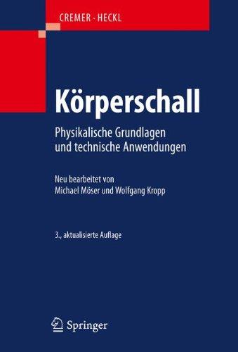 Körperschall: Physikalische Grundlagen und technische Anwendungen