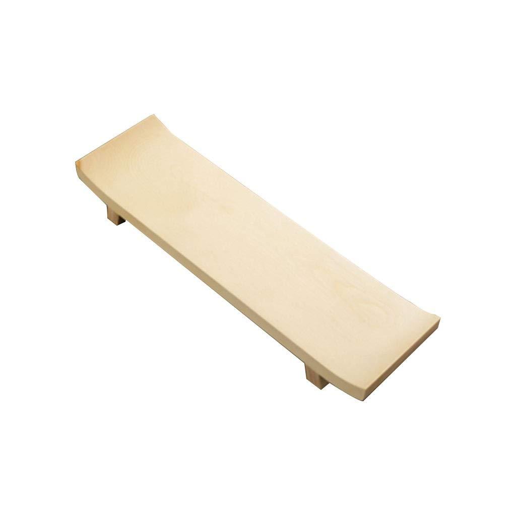 木製寿司サービングボード、純木材デスクトップサービングトレイ種類プレートパンコーヒー茶皿大皿ハードウッドケーキスナックドライプレートナチュラル (サイズ さいず : 3x35x10) B07NVVMD28  3x35x10