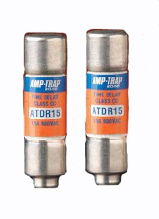 Mersen Electrical Power ATDR2 - Amp-trap 2000 ATDR2, 2A, 600V AC, 300V DC, Time Delay/Current Limiting, Ferrule Fuse