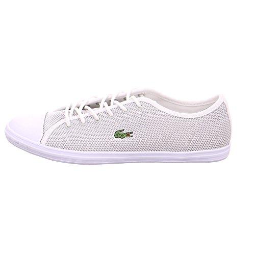 Lacoste Women's Women's Ziane Mesh White Shoes gris