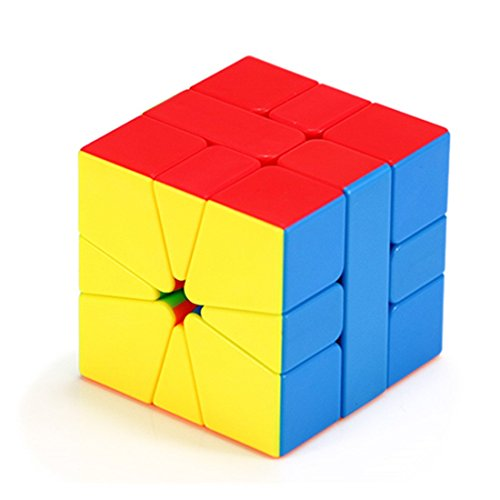CuberSpeed Mofang Jiaoshi Square-1 Speed cube Cubing Classroom SQ-1 Stickerless Magic Cube