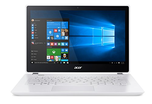 Acer Aspire V 13 V3-372T-5051 13.3-inch Full HD Touch Notebook - Platinum White (Intel i5, 6GB RAM, 256GB SSD, Windows...