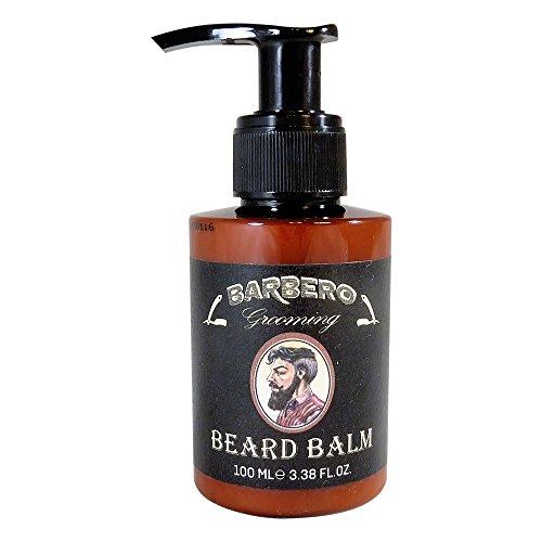barbero grooming beard care kit 4 pcs oil balm shampoo wax beard growth. Black Bedroom Furniture Sets. Home Design Ideas