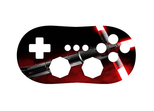 Red Blade Wii Classic Controller Vinyl Decal Sticker Skin by Demon Decal (Demon Wii Games Blade)