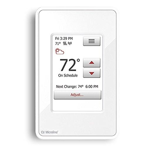 OJ Microline UWG4 Wi-Fi Radiant Floor Heating Wi-Fi Touchscreen Thermostat