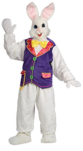 Scary Easter Bunny Costumes (UHC Easter Bunny Outfit Holiday Theme Party Adult Fancy Dress Funny Costume, OS)
