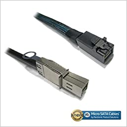 External Mini SAS HD 4x SFF-8644 to mini SAS HD SFF-8643 data server Raid Cable