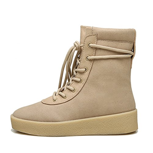Zapatos Para Botas Botines Icegrey Chukka Caqui Zapatillas Mujer Cordones Con De Senderismo 0A1wYq4