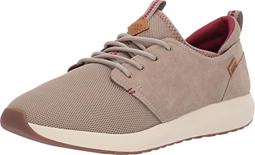 - Reef Men's Cruiser Khaki/Cream/Red 10 D US