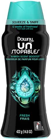 Downy Unstopables In-Wash Scent Booster Beads, Fresh, 14.8 Ounce