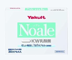 Yakult Noale (Noire) Kw Lactic Acid Bacteria (Capsule) 30 Seeds By Yakult Health Foods