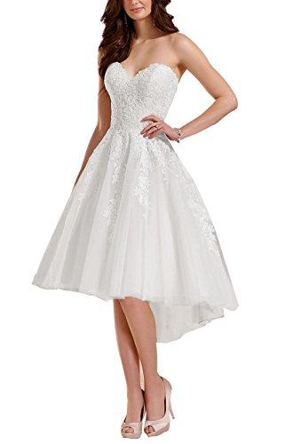 60s wedding dress short - 1