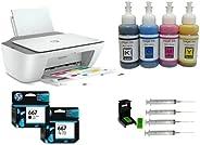 Impresora Multifuncional Deskjet Ink Advantage 2775 WiFi inalámbrica + Kit Recarga Genérico Compatible con Car