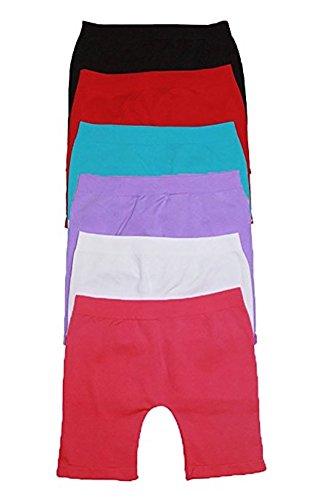 ToBeInStyle Girls Pack of 6 Layering Modesty Slip Boyshorts Layering Under Skirts Shorts
