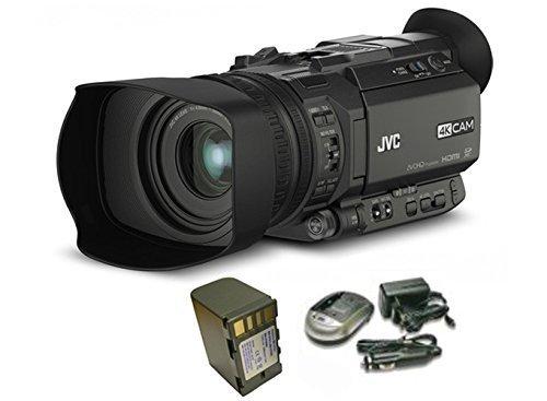 KIT GYHM170 - Camcorder JVC 4K ULTRA HD + 1 battery BPH-0230N + 1 charger CPH-0129