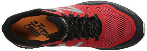 New Balance MTGOBIV1 Trail Shoe-M Men's Fresh Foam Running Shoe, Black/Red, 15 D US