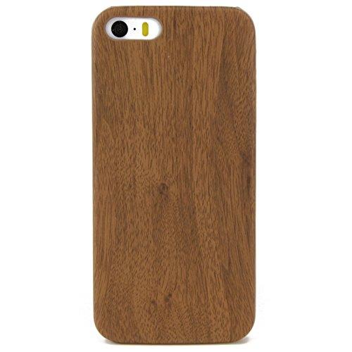 König-Shop Apple iPhone 6 / 6s TPU Handy Hülle Holz Optik Schutz Case Eiche Cover