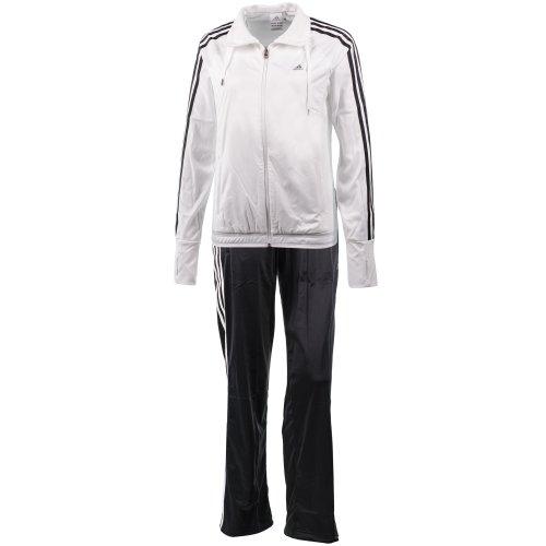 Adidas Clima Lavorato a maglia Suit Completo tempo libero DONNA - Nero, 40 - S