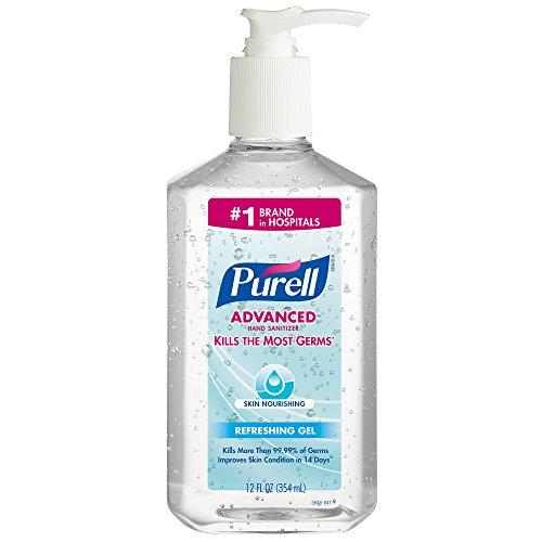 PURELL 3646-12 Advanced Skin Nourishing Instant Hand Sanitizer, 12 fl. oz. Pump Bottle (Case of 12) by Purell