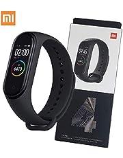 Xiaomi Mi Band 4 Smart Bracelet Fitness Tracker (Black) - 2019 New Version, Full Color Display