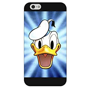 """Customized Black Frosted Disney Donald Duck iPhone 6 4.7 David Valley Case, Only fit iPhone 6 4.7"""""""
