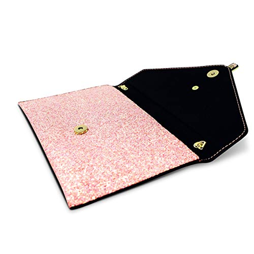 Bag Pink Party Ustyle Women��s Shoulder Wedding Shining Sequined Bag Glitter Evening Purse wS4C1qXx