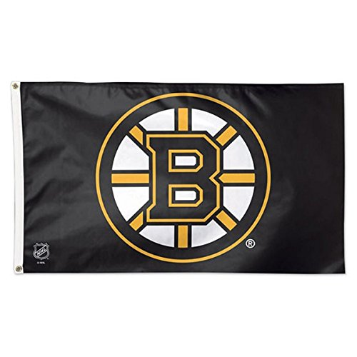 Wincraft NHL Boston Bruins 02415115 Deluxe Flag, 3' x 5' ()