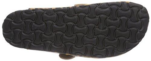 Lico Bioiline Cloc - pantuflas con forro de material sintético mujer marrón - Braun (Braun/Schwarz)