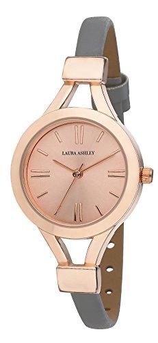 Laura Ashley Women's LA31011RG Analog Display Japanese Quartz Grey Watch