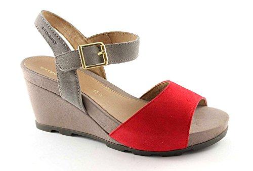 Zapatos rojos Stonefly para mujer Jeiwzr