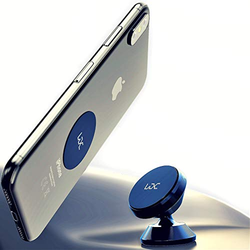 LDC Magnetic Phone Car Mount Cell Phone Holder 360 Magnetic Phone Holder Car Phone Mount Cell Phone Car Mount Phone Holder for Car Car Phone Holder Universal Car Phone Holder for Any Phone