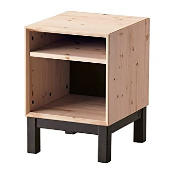 Ikea Nornäs Ablagetisch Aus Massiver Kiefer In Grau Amazonde