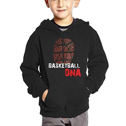 Basketball DNA Teen Boys Pullover Hoodie Athletic Pocket Sweater free shipping