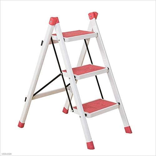 FGRLF Escabel Taburetes para escalones, Escalera Plegable para el hogar Escaleras con Pedales de aleación de Aluminio Taburete de pies (Color : #1): Amazon.es: Hogar