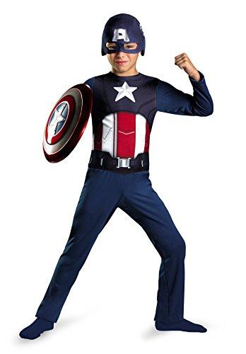Avengers Captain America Kids Costume
